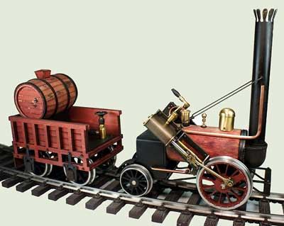 Regner 'Rocket': Limited edition kit will highlight the earliest era in steam locomotion.