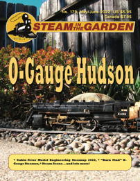 A recent cover of Steam in the Garden magazine