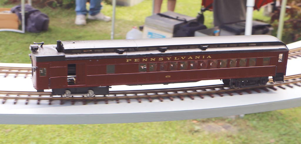 Peter Thornton's rail-motor modification based on a 'Dora.'